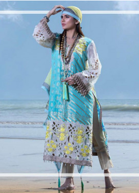 Mahamir by Tajnoor Embroidered Lawn Unstitched 3 Piece Suit TN20M 01 - Spring / Summer Collection