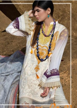Mahamir by Tajnoor Embroidered Lawn Unstitched 3 Piece Suit TN20M 02 - Spring / Summer Collection