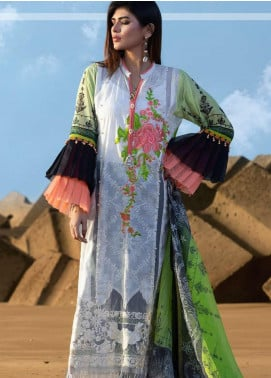 Mahamir by Tajnoor Embroidered Lawn Unstitched 3 Piece Suit TN20M 03 - Spring / Summer Collection
