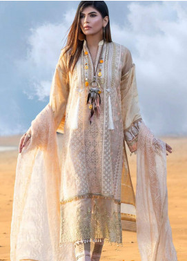 Mahamir by Tajnoor Embroidered Lawn Unstitched 3 Piece Suit TN20M 06 - Spring / Summer Collection