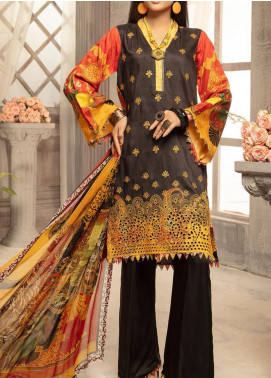Mahee's by Riaz Arts Embroidered Viscose Unstitched 3 Piece Suit RA20MV 01 - Winter Collection