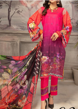 Mahee's by Riaz Arts Embroidered Viscose Unstitched 3 Piece Suit RA20MV 02 - Winter Collection