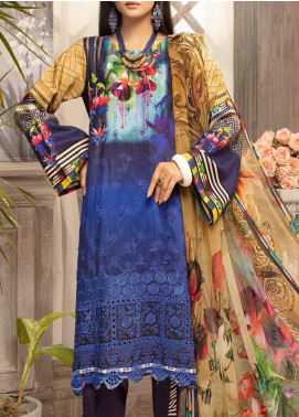 Mahee's by Riaz Arts Embroidered Viscose Unstitched 3 Piece Suit RA20MV 03 - Winter Collection