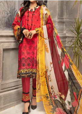 Mahee's by Riaz Arts Embroidered Viscose Unstitched 3 Piece Suit RA20MV 04 - Winter Collection