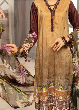 Mahee's by Riaz Arts Embroidered Viscose Unstitched 3 Piece Suit RA20MV 06 - Winter Collection
