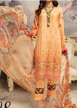 Mahee's by Riaz Arts Embroidered Viscose Unstitched 3 Piece Suit RA20MV 08 - Winter Collection