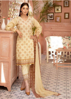 Mahee's by Riaz Arts Chikankari Lawn Unstitched 3 Piece Suit MRA20L  2 - Summer Collection