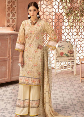 Mahee's by Riaz Arts Chikankari Lawn Unstitched 3 Piece Suit MRA20L  4 - Summer Collection