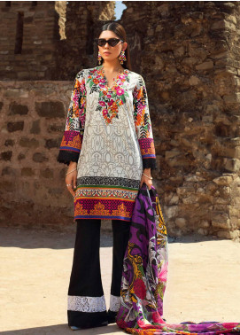 Maheen Karim by ZS Textile Embroidered Lawn Unstitched 3 Piece Suit MK19L 05 BERRYLIGIOUS - Spring / Summer Collection