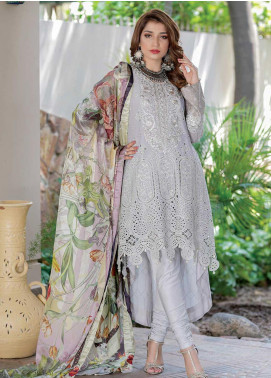Mahi by Marwat Textiles Embroidered Lawn Unstitched 3 Piece Suit MMT20M M-03 - Luxury Collection