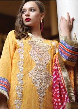 Mahiymaan By Al Zohaib Embroidered Lawn Unstitched 3 Piece Suit MAH19E 08 - Festive Collection