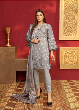 Mahjabeen by Riaz Arts Embroidered Slub Unstitched 3 Piece Suit RA20MJS 75 - Winter Collection