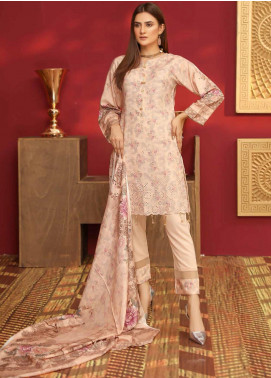 Mahjabeen by Riaz Arts Embroidered Slub Unstitched 3 Piece Suit RA20MJS 79 - Winter Collection