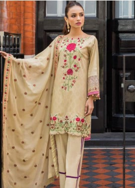 Mahnoor by Al Zohaib Embroidered Lawn Unstitched 3 Piece Suit MHN19E 08 - Festive Collection