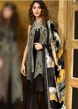 Mahpara Khan Embroidered Lawn Unstitched 3 Piece Suit MHP19L 02 - Spring / Summer Collection