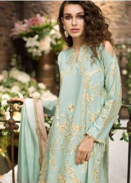 Mahpara Khan Embroidered Lawn Unstitched 3 Piece Suit MHP19L 03 - Spring / Summer Collection