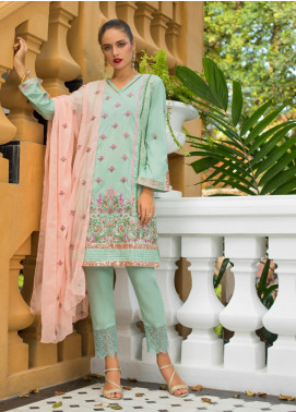 Maira Ahsan Embroidered Lawn Unstitched 3 Piece Suit MA19-DE2 02 - Luxury Collection