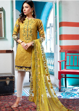Maira Ahsan by ZS Textile Embroidered Lawn Unstitched 3 Piece Suit MA20ZS 2 - Eid Collection