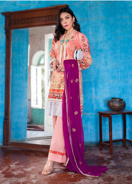 Maira Ahsan by ZS Textile Embroidered Lawn Unstitched 3 Piece Suit MA20ZS 3 - Eid Collection