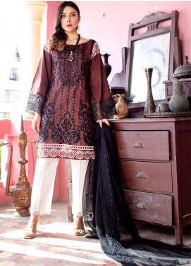 Maira Ahsan by ZS Textile Embroidered Lawn Unstitched 3 Piece Suit MA20ZS 4 - Eid Collection