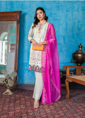 Maira Ahsan by ZS Textile Embroidered Lawn Unstitched 3 Piece Suit MA20ZS 5 - Eid Collection