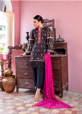 Maira Ahsan by ZS Textile Embroidered Lawn Unstitched 3 Piece Suit MA20ZS 7 - Eid Collection