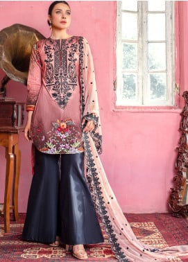 Maira Ahsan by ZS Textile Embroidered Lawn Unstitched 3 Piece Suit MA20ZS 9 - Eid Collection