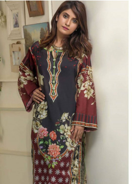 Maira Ahsan Printed Lawn Unstitched Kurties MAD19TC V14 01C - Mid Summer Collection