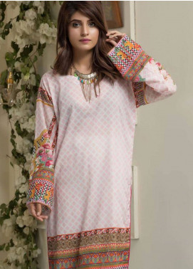 Maira Ahsan Printed Lawn Unstitched Kurties MAD19TC V14 02B - Mid Summer Collection