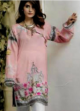 Maira Ahsan Printed Lawn Unstitched Kurties MAD19TC V14 04A - Mid Summer Collection