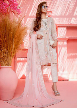 Cherry Blossom by Maison Embroidered Organza Unstitched 3 Piece Suit MSN20CB 03 - Luxury Collection