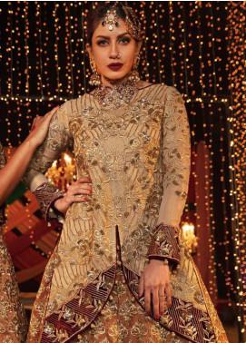 EmbRoyal Embroidered Missouri Unstitched 3 Piece Suit EMB19DK 10 Royal Empress - Dewan-e-Khas