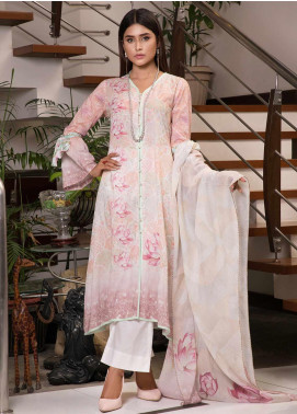 Zaibunnisa Formal Lawn Stitched 3 Piece Suit V2-05 Multi