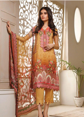 Malhar Printed Lawn Unstitched 3 Piece Suit ML20B B71-B - Summer Collection