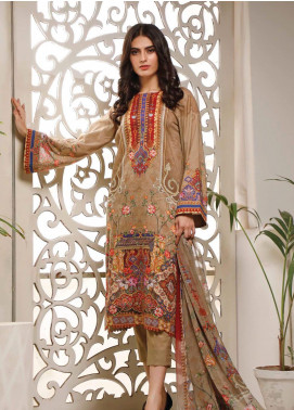 Malhar Printed Lawn Unstitched 3 Piece Suit ML20B B73-B - Summer Collection