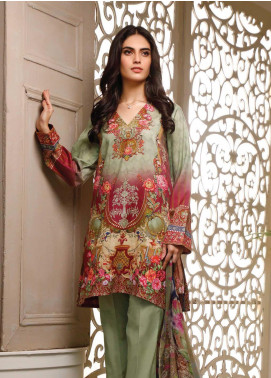 Malhar Printed Lawn Unstitched 3 Piece Suit ML20B B74-A - Summer Collection