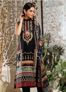 Malhar Printed Lawn Unstitched 3 Piece Suit ML20B B75-A - Summer Collection
