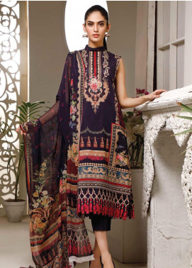 Malhar Printed Lawn Unstitched 3 Piece Suit ML20B B75-B - Summer Collection