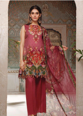 Malhar Printed Lawn Unstitched 3 Piece Suit ML20B B76-A - Summer Collection
