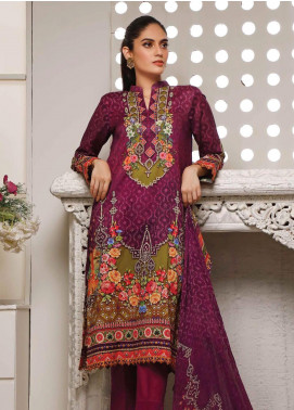 Malhar Printed Lawn Unstitched 3 Piece Suit ML20B B77-B - Summer Collection