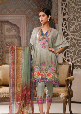 Malhar Printed Lawn Unstitched 3 Piece Suit ML20B B78-A - Summer Collection