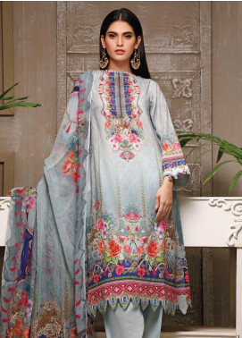 Malhar Printed Lawn Unstitched 3 Piece Suit ML20B B78-B - Summer Collection