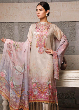 Malhar Printed Lawn Unstitched 3 Piece Suit ML20B B79-B - Summer Collection