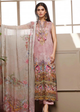 Malhar Printed Lawn Unstitched 3 Piece Suit ML20B B81-A - Summer Collection