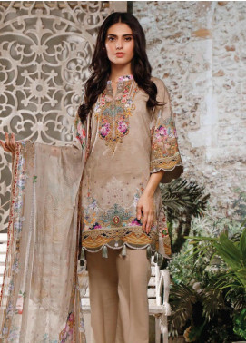 Malhar Printed Lawn Unstitched 3 Piece Suit ML20B B81-B - Summer Collection