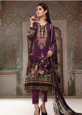 Malhar Printed Lawn Unstitched 3 Piece Suit ML20B B82-A - Summer Collection