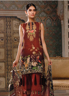Malhar Printed Lawn Unstitched 3 Piece Suit ML20B B82-B - Summer Collection