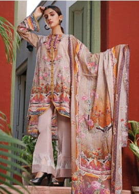 Malhar Printed Lawn Unstitched 3 Piece Suit ML20D 221-B - Spring / Summer Collection