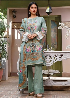 Malhar Printed Lawn Unstitched 3 Piece Suit ML20D 222-A - Spring / Summer Collection