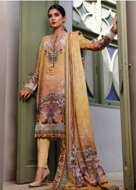 Malhar Printed Lawn Unstitched 3 Piece Suit ML20D 224-B - Spring / Summer Collection